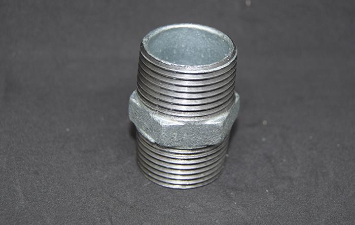 玛钢管件 280外丝Malleable iron pipe fittings-280 Nipple